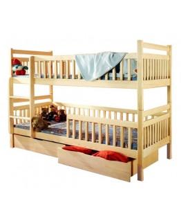 Двухъярусная кровать Дримка Том и Джерри 0,8