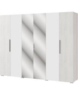 Шкаф Світ Меблів Ромбо 6Д