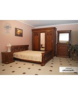 Спальня ЮрВит Колизей (дерево)