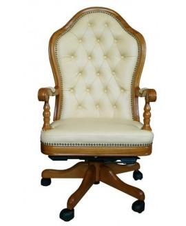 Кресло руководителя Диал Эмбасси (кожа)