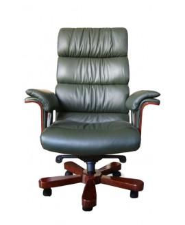 Кресло руководителя Диал Флоренция (дерево, кожа)