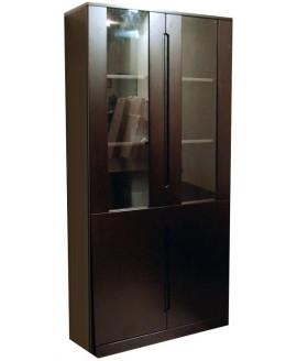 Шкаф книжный Диал GRS 919 со стеклом