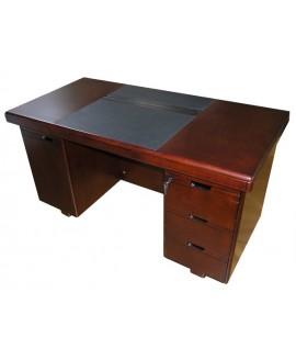 Стол руководителя Диал YDK 607 с кожаной накладкой
