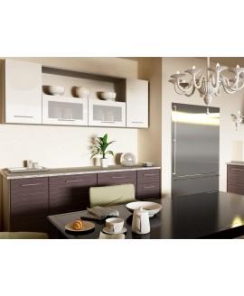 Кухня модульная СМ Сити (2000х600х2132) 2