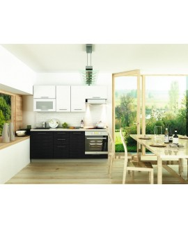 Кухня модульная СМ Сити (2000x600x2132)