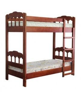Двухъярусная кровать Елисеевская мебель Капитошка 0,9