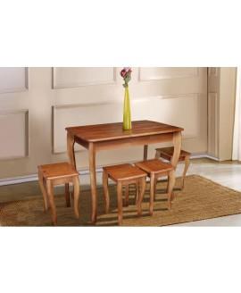 Комплект обеденный МИКС-мебель Смарт 4+1