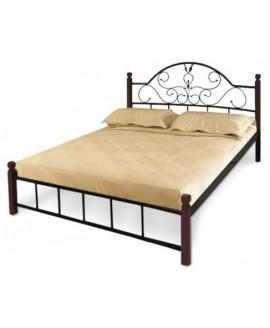 Кровать Металл-Дизайн Анжелика деревянные ножки