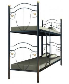 Двухъярусная кровать Металл-Дизайн Диана 0,9