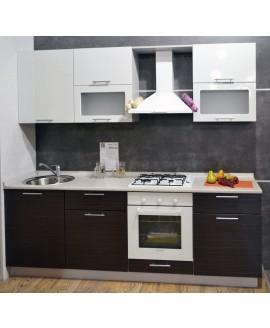 Кухня модульная СМ Сити (2400х600х2180)