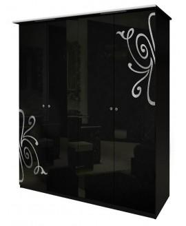 Шкаф 4-х дверный МироМарк Богема без зеркал