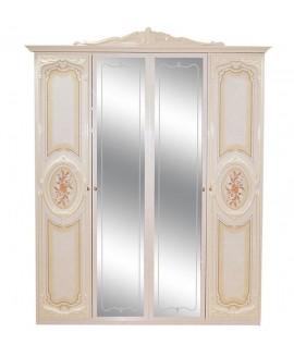 Шкаф 4-х дверный Світ Меблів Кармен нова