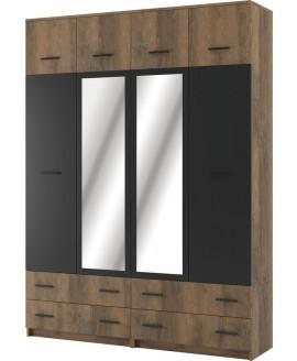 Шкаф Світ Меблів Лотос 4-х дверный