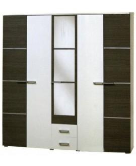 Шкаф Світ Меблів Круиз 5-и дверный