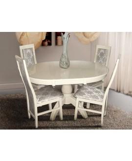 Стол МИКС-мебель Престиж слоновая кость