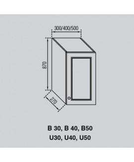 Кухонный модуль Світ меблів Валенсия В 40