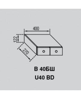 Кухонный модуль Світ меблів Валенсия В 40БШ