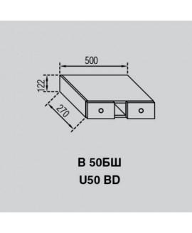Кухонный модуль Світ меблів Валенсия В 50БШ