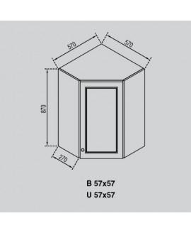Кухонный модуль Світ меблів Валенсия В 57×57