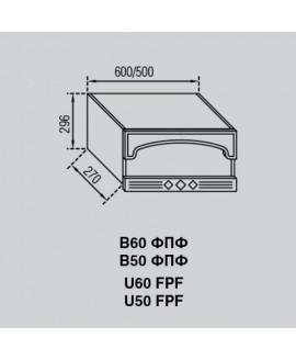 Кухонный модуль Світ меблів Валенсия В 60 ФПФ