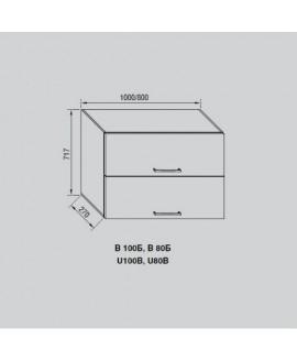Кухонный модуль Світ меблів Адель В 100Б