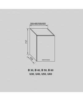 Кухонный модуль Світ меблів Адель В 30