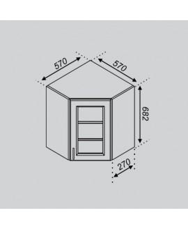 Кухонный модуль Світ меблів Оля 57×57Ск