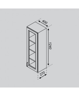 Кухонный модуль Свит меблив Оля В 40ПСк