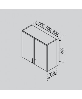 Кухонный модуль Свит меблив Оля В 60