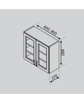 Кухонный модуль Світ меблів Оля В 60Ск