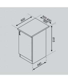 Кухонный модуль Світ меблів Тюльпан Н 30