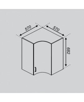 Кухонный модуль Свит меблив Тюльпан Р 57×57