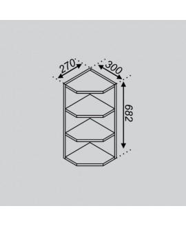 Кухонный модуль Світ меблів Тюльпан В 30КЗ