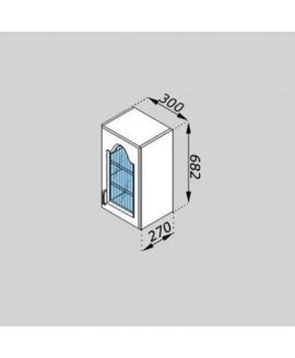 Кухонный модуль Світ меблів Тюльпан В 30Ск
