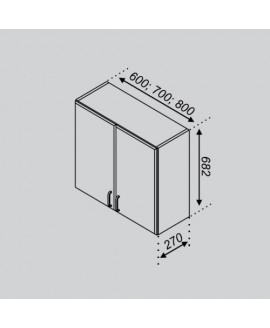 Кухонный модуль Свит меблив Тюльпан В 60