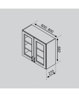 Кухонный модуль Світ меблів Тюльпан В 60Ск