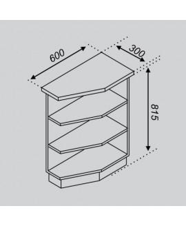 Кухонный модуль Світ меблів Тюльпан Н 30КЗ
