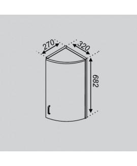 Кухонный модуль Світ меблів Тюльпан В 32КЗЗ