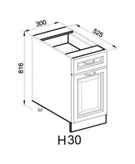 Кухонный модуль Світ меблів Роксана Н 30