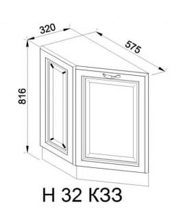 Кухонный модуль Світ меблів Роксана Н 32 КЗЗ