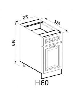 Кухонный модуль Світ меблів Роксана Н 60