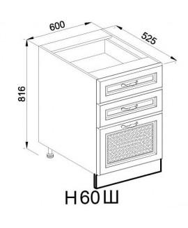 Кухонный модуль Світ меблів Роксана Н 60 Ш