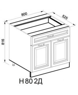 Кухонный модуль Свит меблив Роксана Н 80 2Д