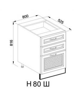 Кухонный модуль Світ меблів Роксана Н 80 Ш