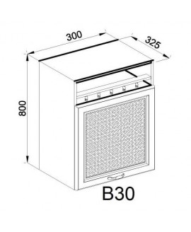 Кухонный модуль Свит меблив Роксана В 30