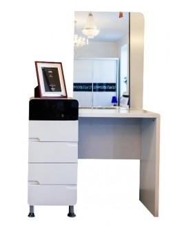 Туалетный столик СВ София Флавер с зеркалом