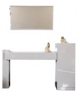 Туалетный столик СВ София Шоколад с зеркалом