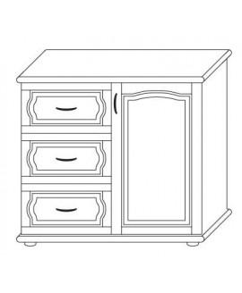 Комод ТеМП Мебель К 4