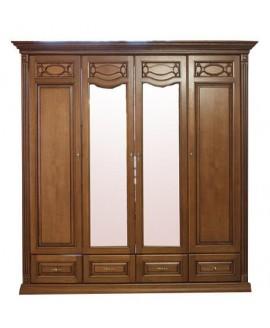 Шкаф 4-х дверный Элеонора стиль Элеонора нова