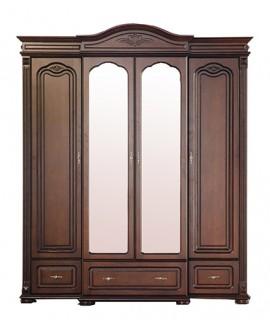 Шкаф Элеонора стиль Элизабет 4-х дверный
